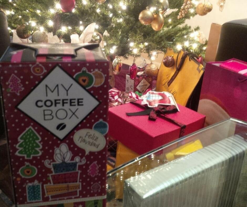 Regalos navideños para clientes - MyCoffeeBox