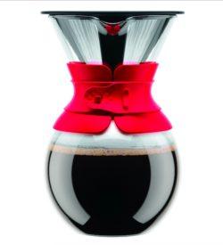 Dripper Bodum con filtro permanente, cafeteras